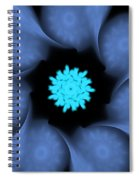 Blue Wings Spiral Notebook