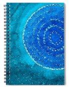 Blue World Original Painting Spiral Notebook