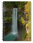 Blue Yellow And Green At Brandywine Spiral Notebook