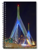 Blue Zakim Spiral Notebook