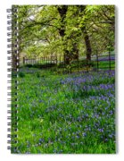 Bluebell Way Spiral Notebook