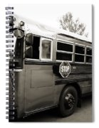 Bluebird Bus Limo 2 Spiral Notebook
