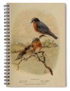 Bluebirds Spiral Notebook