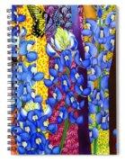 Bluebonnet Garden Spiral Notebook
