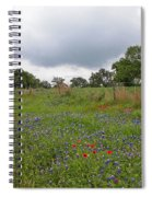 Bluebonnet Hill Spiral Notebook