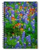 Bluebonnet Patch Spiral Notebook