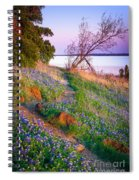 Bluebonnet Trail Spiral Notebook