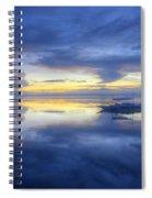 Bluer Than Blue Spiral Notebook