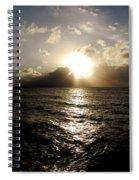 Blues @ Evening Spiral Notebook