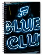 Blues Club On Bourbon Street Nola  Spiral Notebook