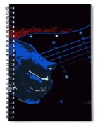 Blues Guitar Spiral Notebook