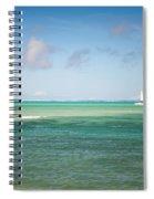 Blues. Mauritius Spiral Notebook