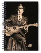 Blues Originator  Spiral Notebook