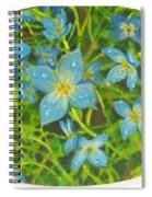 Bluets Of The Shenandoah  Spiral Notebook