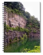 Bluffs Near Marina Norris Dam State Park Spiral Notebook