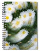 Blurred Daisies Spiral Notebook