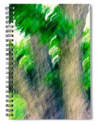 Blurred Pecan Spiral Notebook