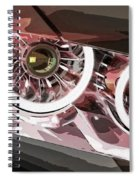 Bmw 19 Spiral Notebook
