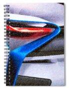 Bmw 22 Spiral Notebook
