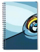 Bmw 40 Spiral Notebook