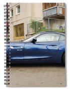 New Car On The Block Spiral Notebook