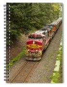 Bnsf Train 789 D Spiral Notebook