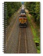 Bnsf Train 789 F Spiral Notebook