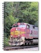 Bnsf Train Spiral Notebook