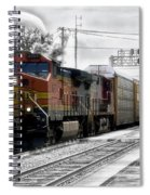 Bnsf Train Spiral Notebook