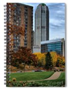 Bny Mellon From Duquesne University Campus Hdr Spiral Notebook