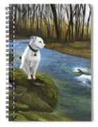 Bo At The Patapsco Spiral Notebook