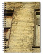 Boarded Windows 2 Spiral Notebook