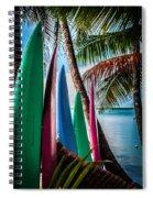 Boards Of Surf Spiral Notebook