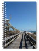 Boardwalk At Ponce Spiral Notebook