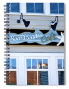 Boardwalk Cafe Spiral Notebook