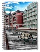 Boardwalk Early Morning Spiral Notebook