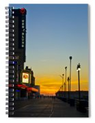 Boardwalk House Of Blues At Sunrise Spiral Notebook