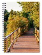 Boardwalk In A Forest, Magee Marsh Spiral Notebook