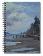 Boardwalk On Vashon Island Spiral Notebook