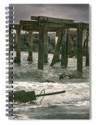 Boardwalk Remnants Spiral Notebook