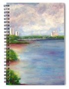 Boardwalk To Beach At John D Macarthur State Park Spiral Notebook