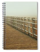 Boardwalk To The Unknown Spiral Notebook