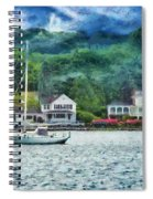 Boat - A Good Day To Sail Spiral Notebook