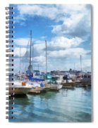 Boat - Boat Basin Fells Point Spiral Notebook