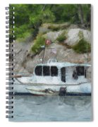 Boat Break Spiral Notebook