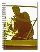 Boat Detail Service Spiral Notebook