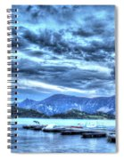 Boat Dock At Holter Lake Spiral Notebook