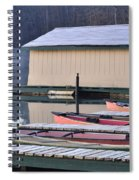 Boat Dock Spiral Notebook