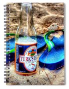 Boat Drinks Spiral Notebook
