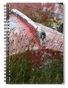 Boat Graveyard Peurto Natales Chile 6 Spiral Notebook
